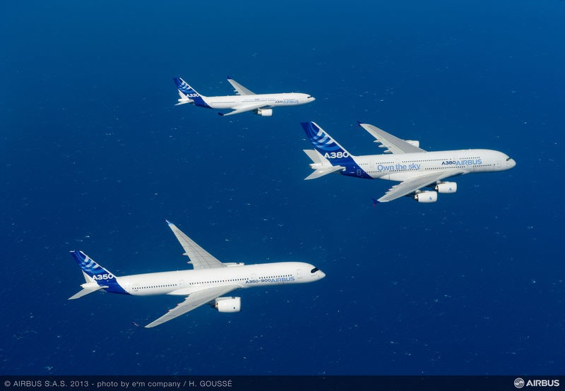 Airbus promo video formation_flight_A330_A350_XWB_A380