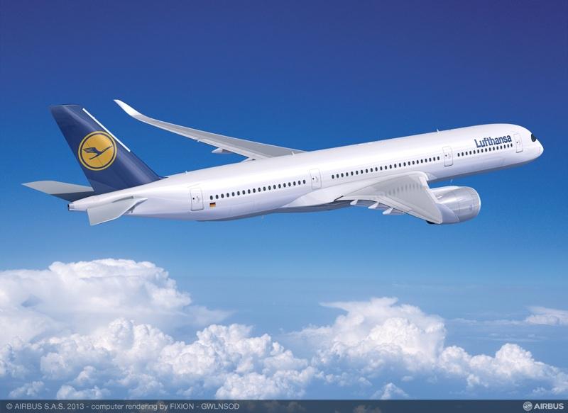 A350-900 ©Lufthansa