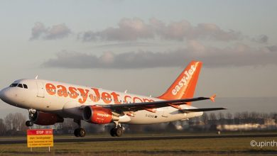 Photo of Real time Flightradar24 bij easyJet