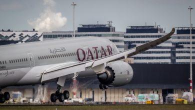 Photo of Qatar Airways landt voor het eerst op Londen Gatwick