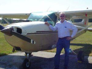 Hans de Jong is columnist bij Up in the Sky