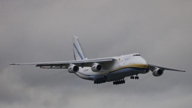 Photo of Antonov AN-124 vertrekt van Oostende-Brugge Airport | Video