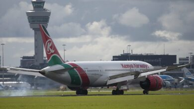 Photo of Kenya Airways in augustus vaker naar Schiphol
