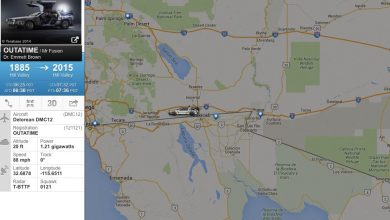 Photo of Flightradar24 tracks back to the future