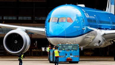 Photo of KLM met 787 Dreamliner naar Beijing