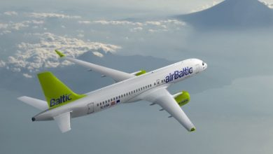 Photo of Air Baltic CS300 launch customer