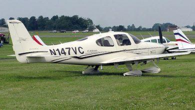 Photo of Cirrus SR22 gebruikt parachute   video