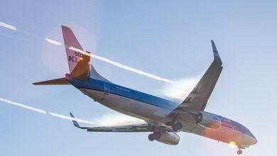 Photo of KLM 737 maakt dubbele go-around