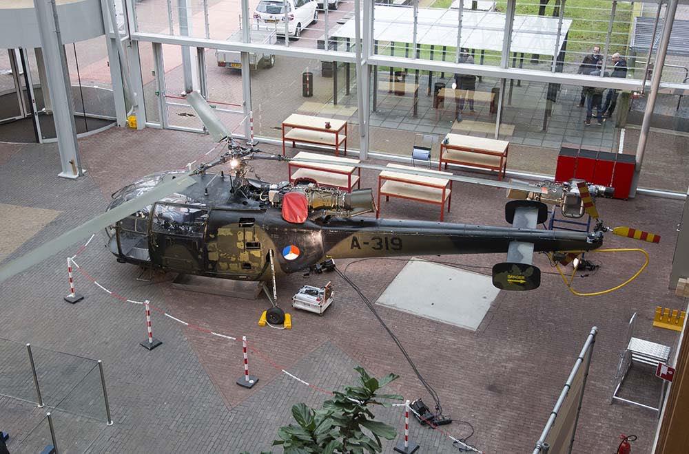 002 Alouette III Deltion College Zwolle 150116 Remco de Wit