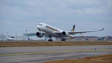 Photo of Eerste A350-900 Singapore maakt testvlucht