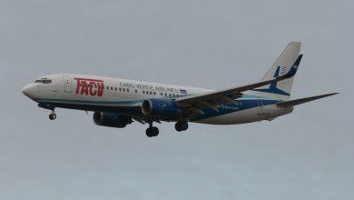Photo of B737-800 Cabo Verde Airlines aan de ketting op Schiphol