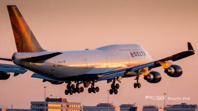 Photo of Delta 747's volop in gebruik voor evacuatievluchten