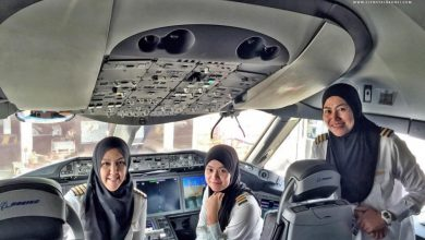 Photo of Eerste volledig vrouwelijke cockpit crew Royal Brunei Airlines