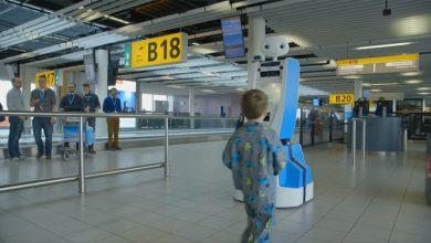 Photo of Video: KLM test gidsrobot op Schiphol