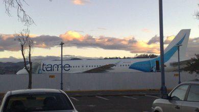 Photo of Foto's & video: Embraer 190 schiet van de baan in Ecuador
