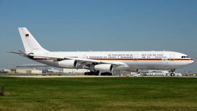 Photo of Duitse A340 met pech: minister te laat bij G7-top