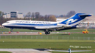 Photo of Foto's: Boeing 727 uit 1970 landt op Schiphol