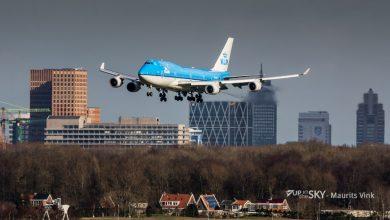 Photo of KLM neemt weer afscheid van een Boeing 747