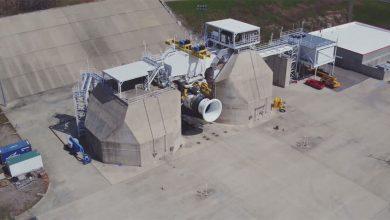Photo of Boeing test grootste vliegtuigmotor van General Electric
