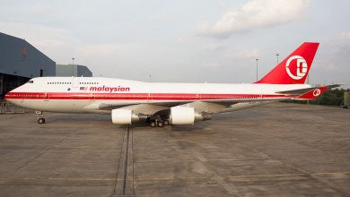 Photo of Malaysia eerder met retro-747 naar Londen Heathrow