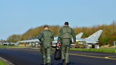 Photo of Luchtmacht oefent boven de Marnewaard en Drenthe