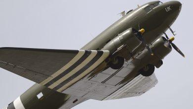 Photo of Dakota vliegt 4 mei herdenkingsvlucht