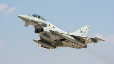 Photo of Klapbanden voor Britse Eurofighter bij take-off | video