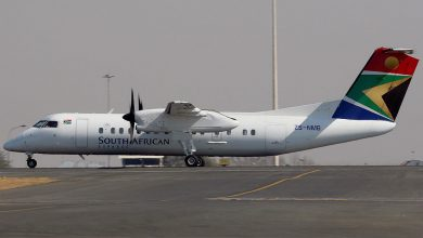 Photo of Vliegtuigen SA Express onder de hamer