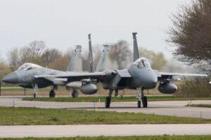 F-15C Eagle, Amerikaanse luchtmacht © Leonard van den Broek