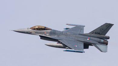 Photo of Nederlandse F-16's terug uit Litouwen