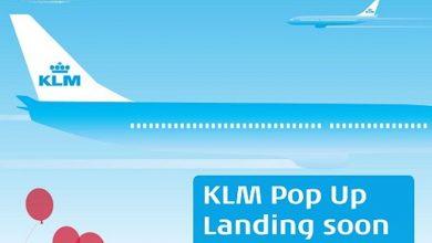 Photo of KLM opent na New York nu ook pop-up store in Antwerpen