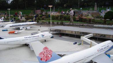Photo of Xiamen Airlines 'landt' in Madurodam