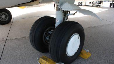 Photo of Orient Thai hard gestraft voor landing zonder wiel
