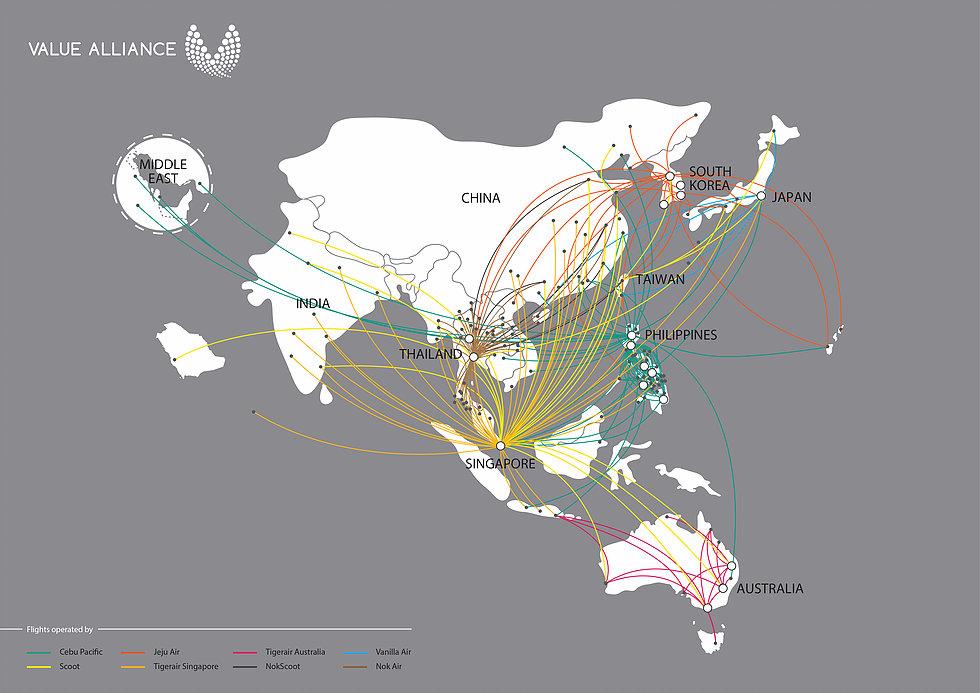 Routenetwerk ©Value Alliance