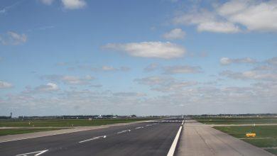Photo of Onderzoek naar bijna-start Transavia van taxibaan Schiphol