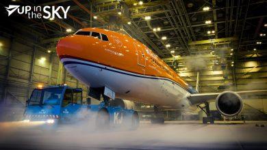 Photo of KLM 777 'Orange Pride' wijkt uit na brandmelding