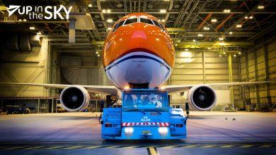 Photo of Meer foto's Oranje KLM B777