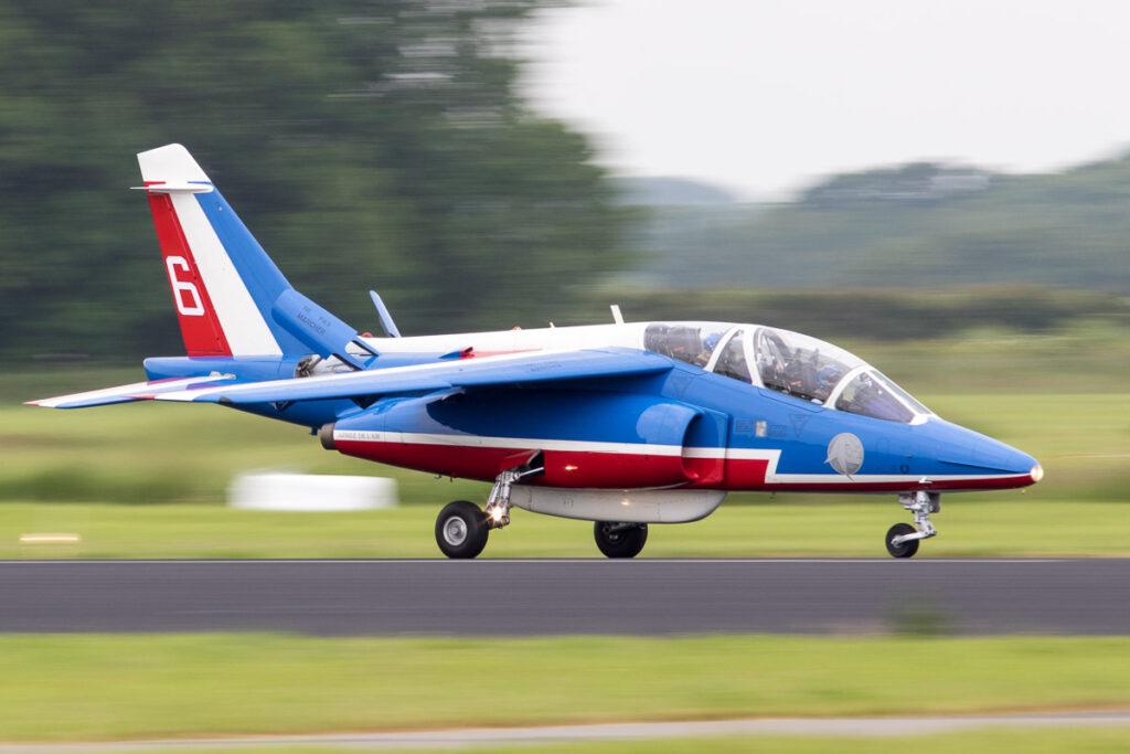 Alpha Jet van de Patrouille de France © Leonard van den Broek
