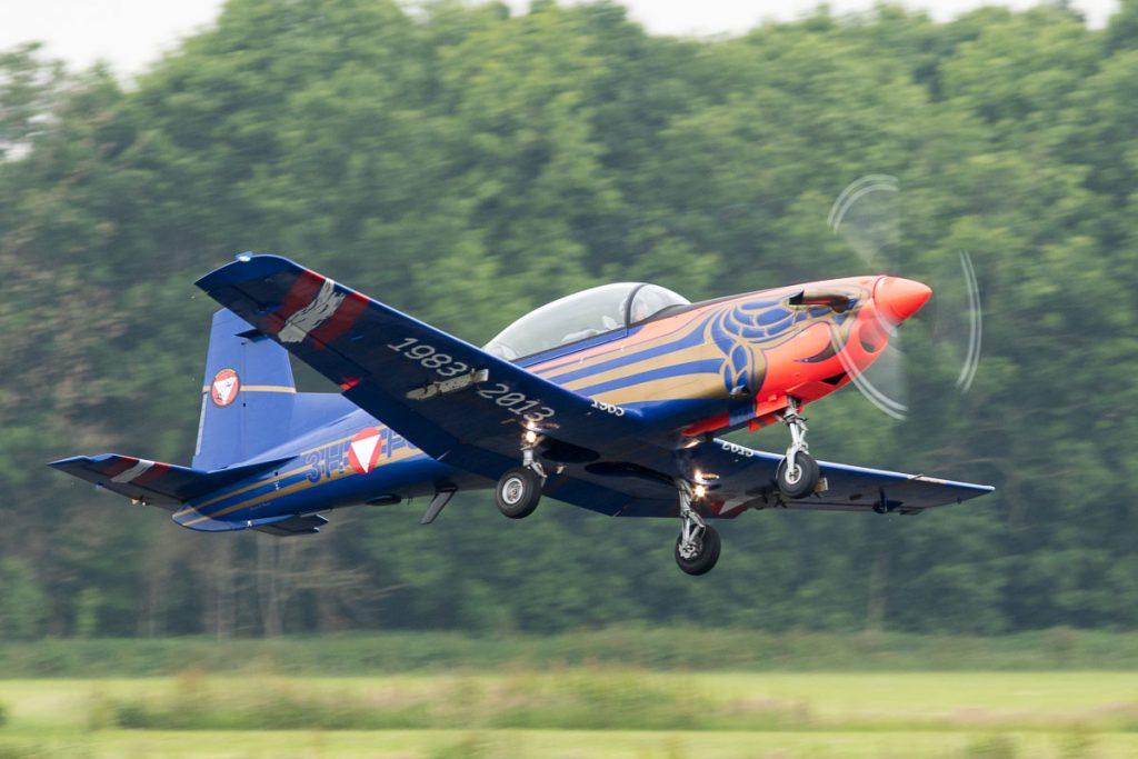 PC-7 van de Oostenrijkse luchtmacht © Leonard van den Broek