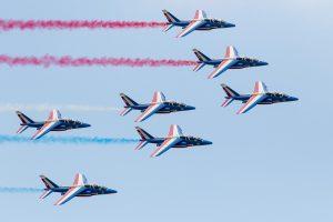 Alpha Jets van de Patrouille de France © Leonard van den Broek