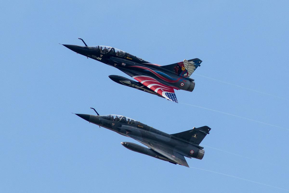 Mirage 2000N van de Franse luchtmacht © Leonard van den Broek