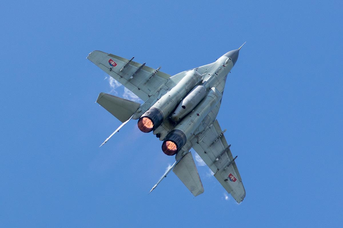 Slowaakse MiG-29AS © Leonard van den Broek