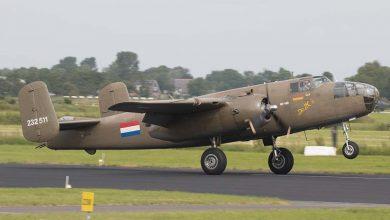 Photo of B-25 Mitchell oefent deze week rondom vliegbasis Woensdrecht