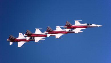 Photo of Zwitserse F-5 crashte na botsing met ander toestel