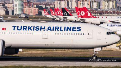 Photo of Turkish Boeing 777 ontruimd na dreigement in toilet