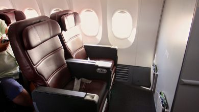 Business class Qantas