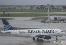 Aigle Azur A320 op Orly