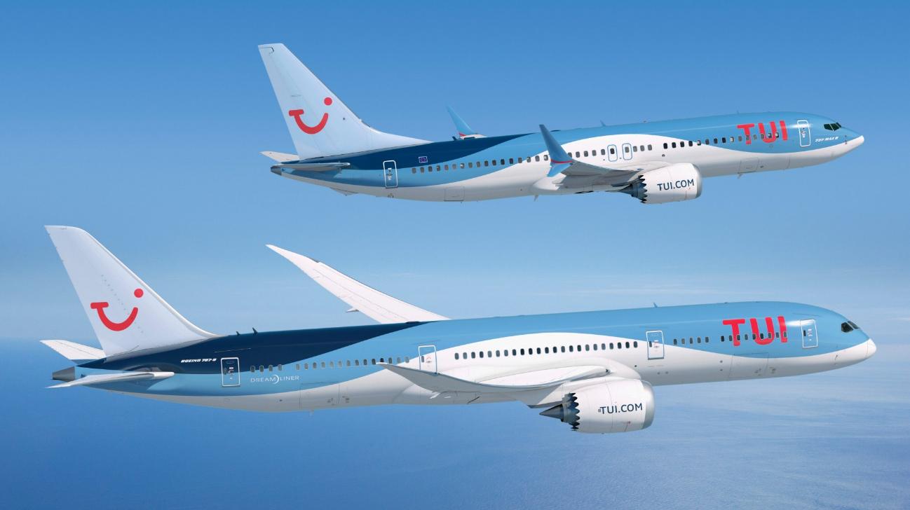 Tui Bestelt Meer 737 Max S En Een 787 9 Up In The Sky