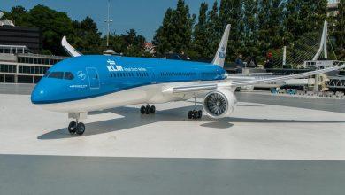 Photo of KLM ontvangt weer nieuwe B787 … in Madurodam