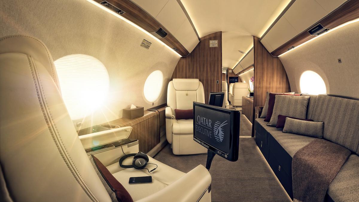 Gulfstream interieur ©Qatar Executive